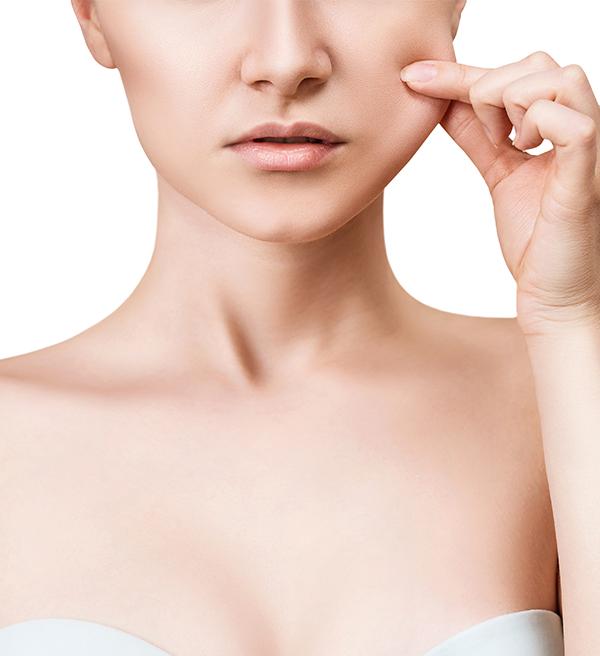 Procedimento estético de harmonização facial